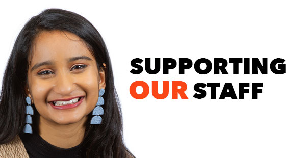 Supporting our Staff: Lalitha Pamidigantam